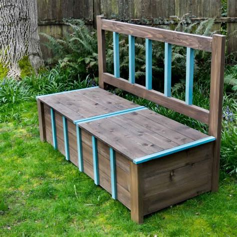 Diy Garden Bench by Diy Storage Bench Igbuilders Challenge The Handyman S