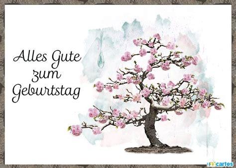 cartes joyeux anniversaire en allemand gratuit  cartes