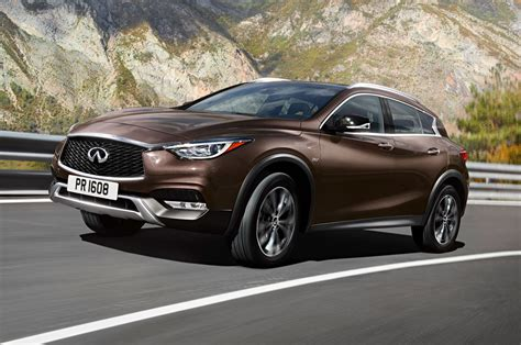 2017 infiniti qx30 luxury crossover debuts at l a auto show