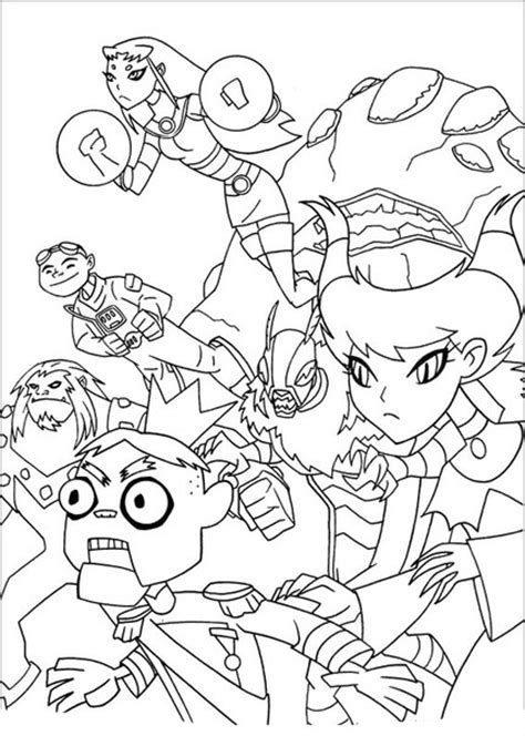 teen titans  coloring pages    print