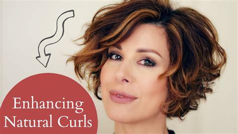 Enhancing Short Naturally Curly Hair