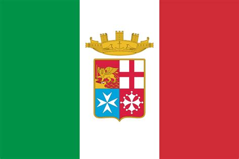 italy flag 1 italian italia file naval ensign of italy svg wikimedia commons ital