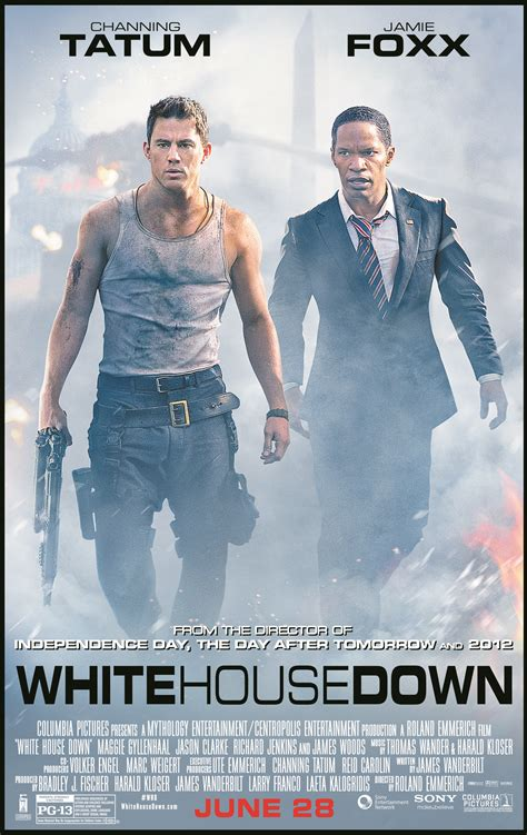 White House Down Review White House Down Stars Channing