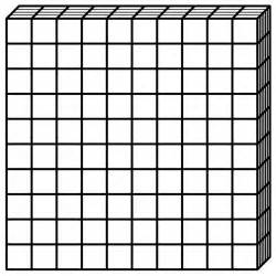 Base 10 Blocks Worksheets Gallery For Gt Base Ten Block Flat