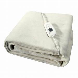 Single Washable Electric Heated Under Blanket 60x120 Cm