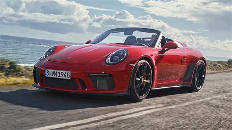 Top Gear 4 Door Supercars by The Production Porsche 911 Speedster Is Here Top Gear