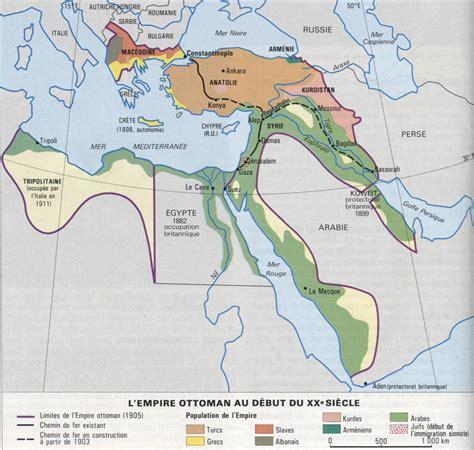 Carte De L Empire Ottoman by L Empire Ottoman