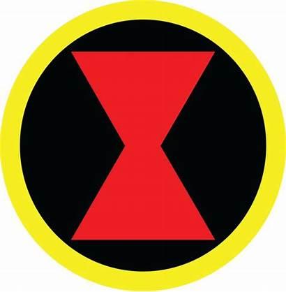 Symbol Widow Superhero Marvel Avengers Logos Symbols