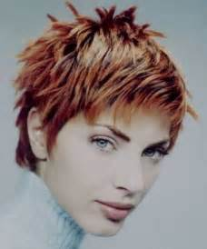 Hairstyle Short Spiky Haircuts Women