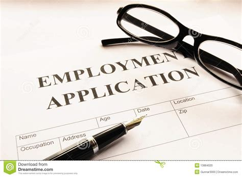 employ馥 de bureau offre d emploi application d 39 emploi photo stock image 13884020