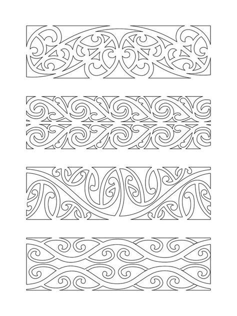 kowhaiwhai black and white - Google Search | Marquesan tattoos, Maori patterns, Maori designs