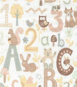 nursery fabric alphabet breeze flannelnursery fabric With fabric alphabet letters for nursery