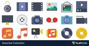 Essential Collection 380 Free Icons  Svg  Eps  Psd  Png Files
