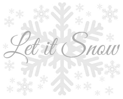 blissful roots   snow printable