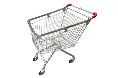 Supermarket Shopping Trolleys - 120 Litre Loop Shopping ...
