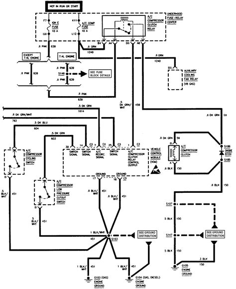 87 chevy truck a c compressor wiring diagram chevrolet oil pressure switch wiring diagram