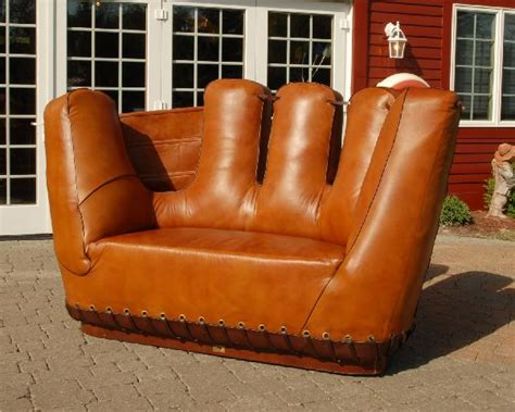 Baseball Glove Chair For Adults by 375 Leather Baseball Glove Shaped Images Frompo