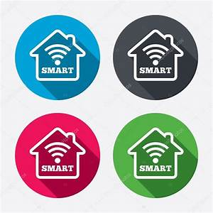 Smart Home Icon : smart home sign icons stock vector blankstock 60072281 ~ Markanthonyermac.com Haus und Dekorationen