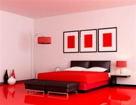 desain kamar tidur bernuansa merah desain rumah