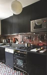 Elements De Cuisine Ikea : paris l 39 appartement d 39 une architecte d 39 int rieur c t maison ~ Melissatoandfro.com Idées de Décoration