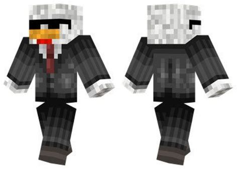 agent chicken skin  minecraft pe  mcpe box