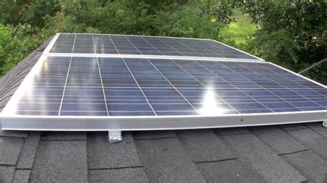 Solar Panel Kit For Shed by Shed Solar Panel Install