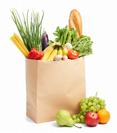 Grocery Groceries Transparent Bag Vegetable Fruit Clipart