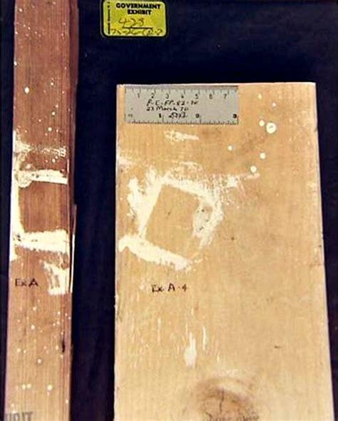 wood grain comparison jeffrey macdonald case weapons photos crimearchives