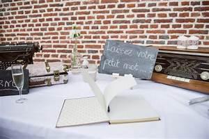 Livre D Or Mariage Champetre : decoration de mariage champetre ~ Dode.kayakingforconservation.com Idées de Décoration