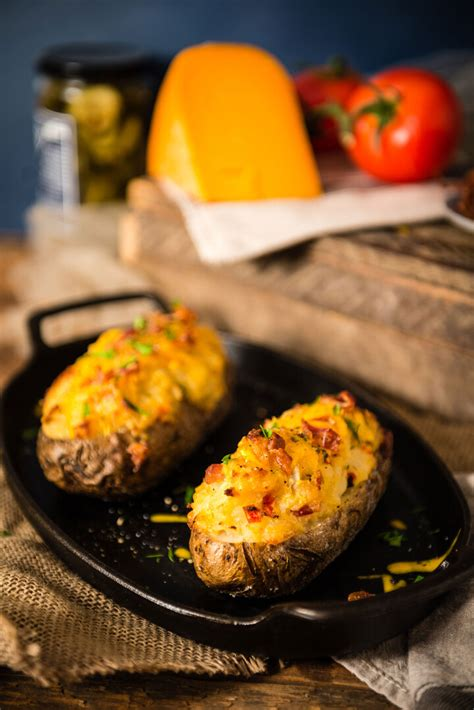 baked potatoes  bacon idaho potato commission