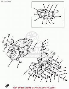 Yamaha Yz250 1979 Usa Crankcase