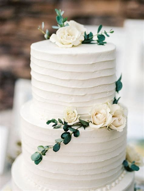 25 Best Ideas About Wedding Cake Simple On Pinterest