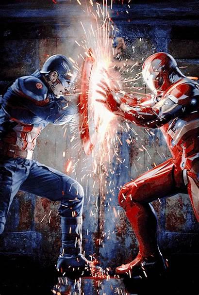 Captain America Fight Civil War Iron Divided
