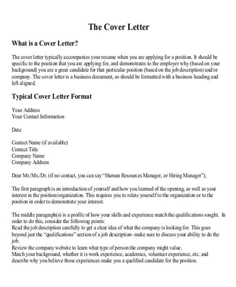 Cover Letter With No Contact Person by Sle Business Letter Layout 8 Exles In Word Pdf