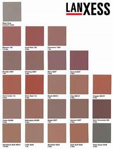 Bayferrox Lanxess Color Chart