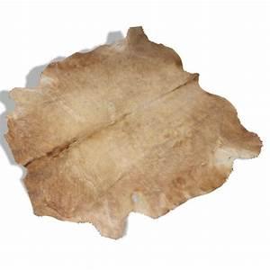 tapis peau de vache peau marron dans son jus With tapis peau de vache avec canape sans angle
