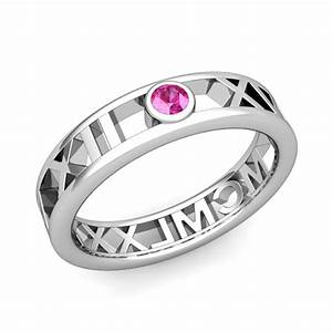 create roman numeral rings my love wedding ring With my love wedding ring