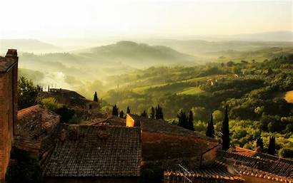 Tuscany Rustic Italy Wallpapers Desktop Tuscan Landscape
