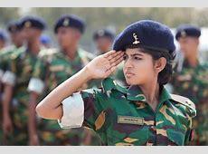 Female Bangladeshi Army 2nd lieutenant Farhana image
