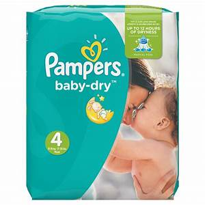 Couches Baby Dry Taille 4 8 16 Kg 174 Couches De Pampers