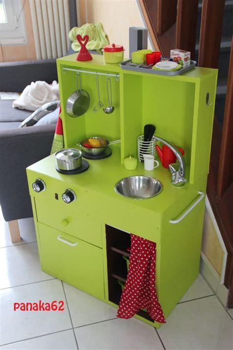 cuisine pour jouer cuisine meuble transformé made in maison meubles