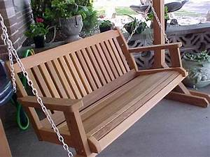 Cabbage Hill 5' Porch Swing - Wood Country