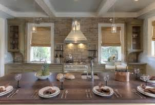 brick kitchen backsplash brick kitchen backsplash cottage kitchen herlong associates