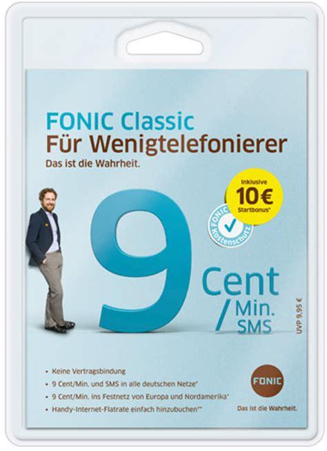 fonic  net flat prepaid handyflat fuer alle netze vom