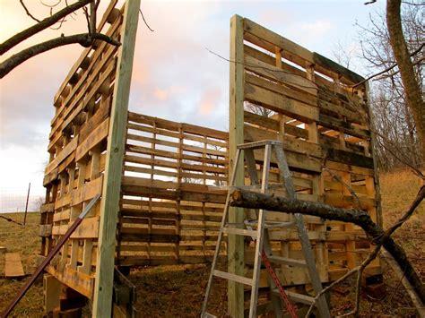 goat barn  pallets  owner builder