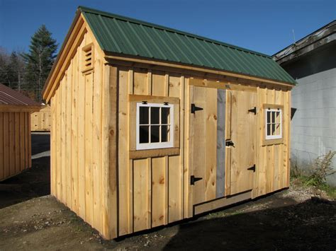 saltbox style shed choose size yard garden tool outdoor storage diy plans ebay
