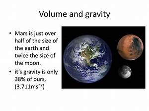 PPT - How mars compares with earth PowerPoint Presentation ...