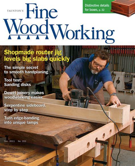 novdec  finewoodworking
