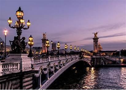 Paris Night Places Alexandre Pont Iii