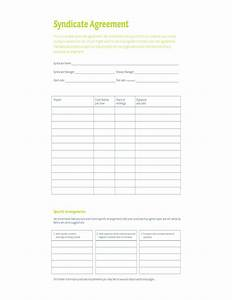 Editable lottery syndicate form free download for Group lottery contract template